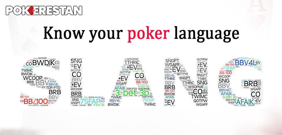 Poker-Slangs
